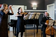 Mozarts Flötenquartett