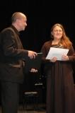 2014, Dietmar Ungerank und Katharina Halter (Gesang) bei der Preisverleihung