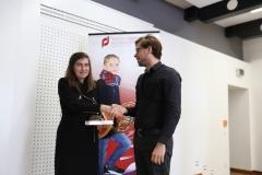 Carina Bening (Musikschulleiterin der Musikschule Selb) und Markus Jung (unser 1. Vorsitzende)
