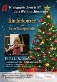 Klangspürchen trifft den Weihnachtsmann - Kinderkonzert mit Peter Kampschulte