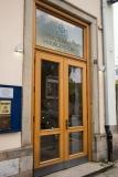 Eingang zum Festsaal des Logenhauses Hof