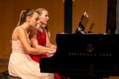 2017, Sará Suchánková und Barbora Hamácková im Preisträgerkonzert