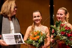 2017, mit der TKV-Vorsitzenden Renate von Hörsten bei der Preisverleihung