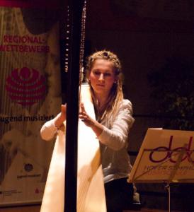 Florestan und Eusebius-Preisträgerinnen 2016, Emma Bense und Lotte Katharina Krüger, Harfe Duo