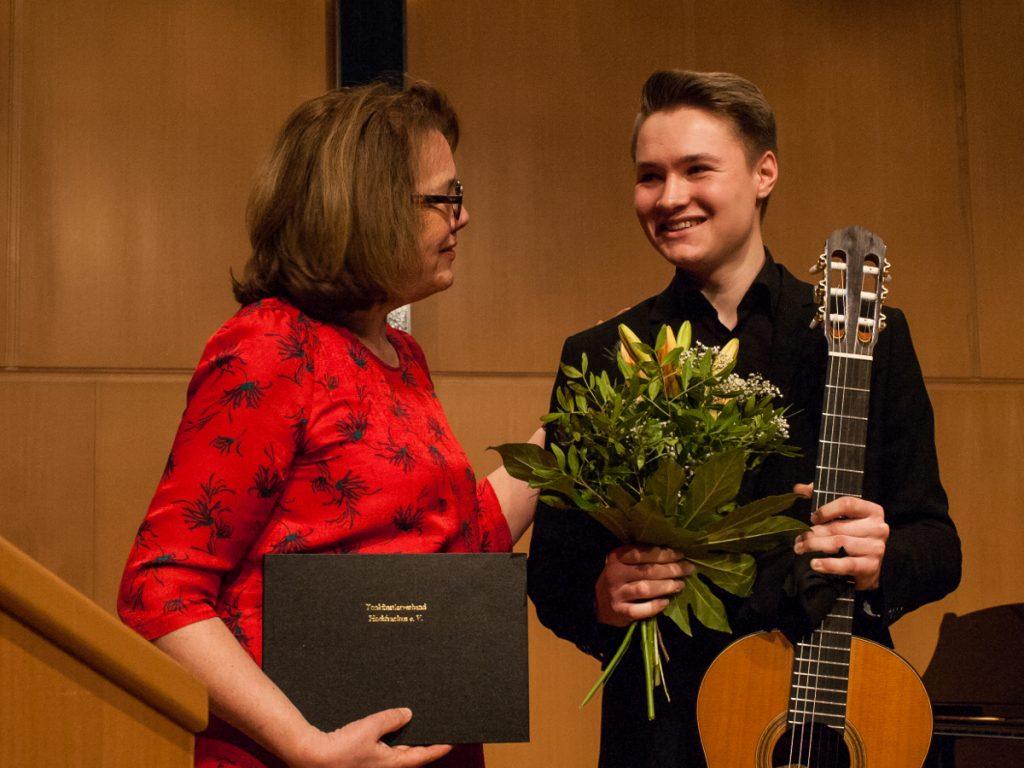 Florestan und Eusebius-Preisträger 2018, Daniel Schreivogel, Gitarre solo