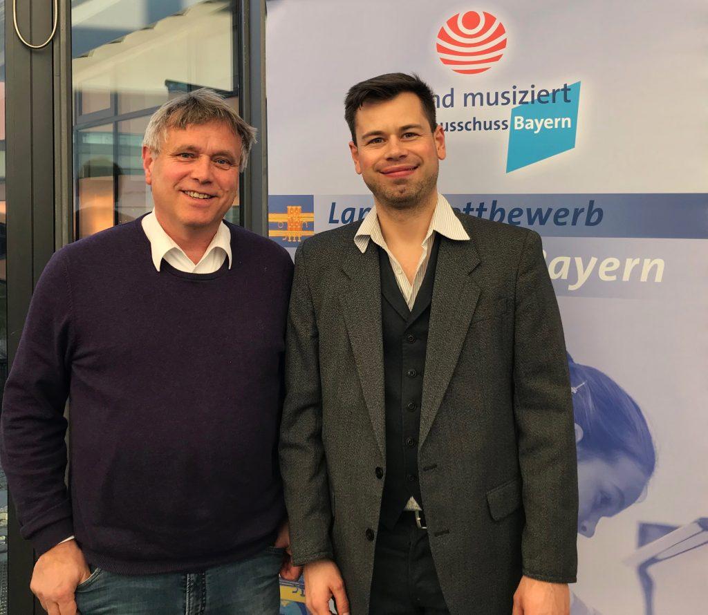 Wolfgang Graef-Fograscher und Markus Jung
