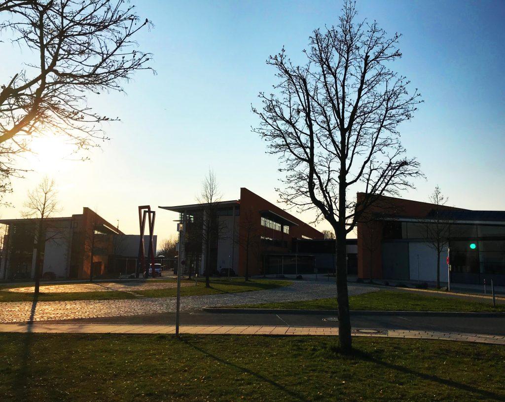 Hochschule Hof im Sonnenschein