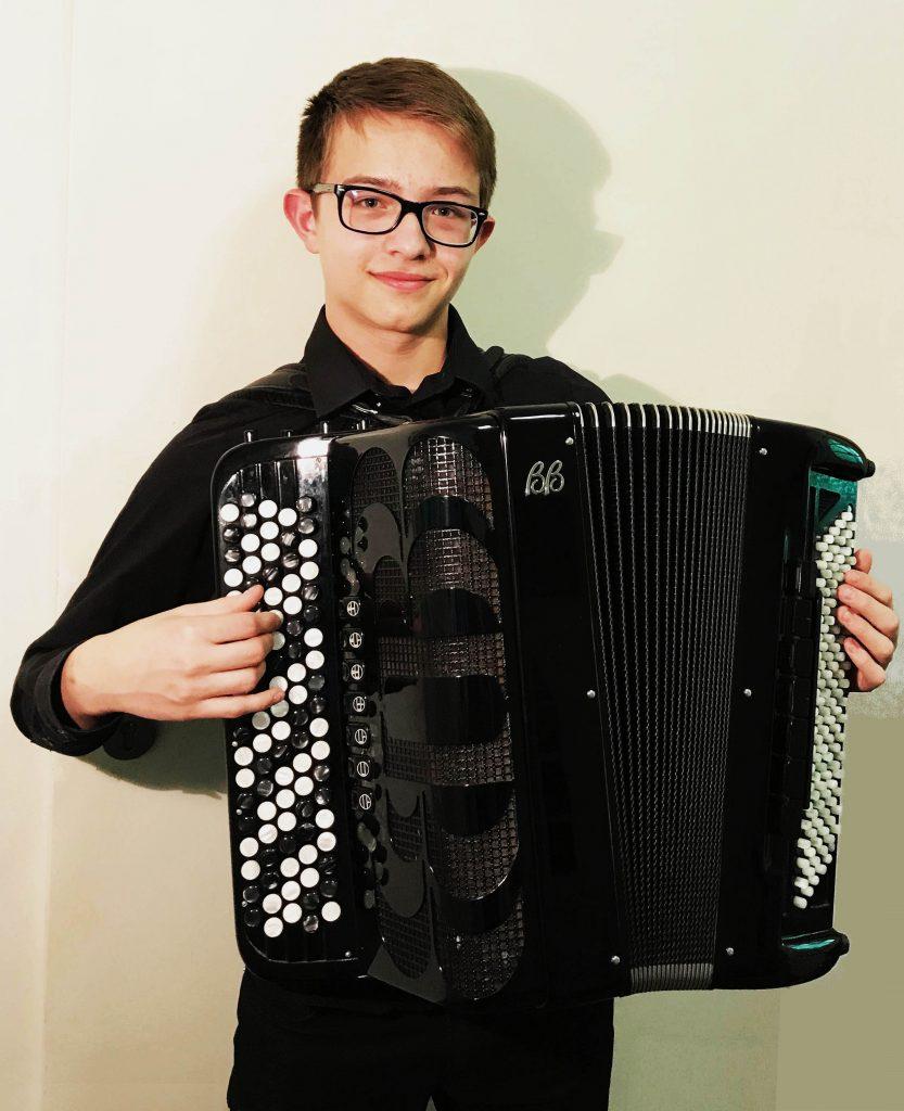 Jakob Böger, Kategorie Akkordeon solo, Landeswettbewerb Bayern 2019