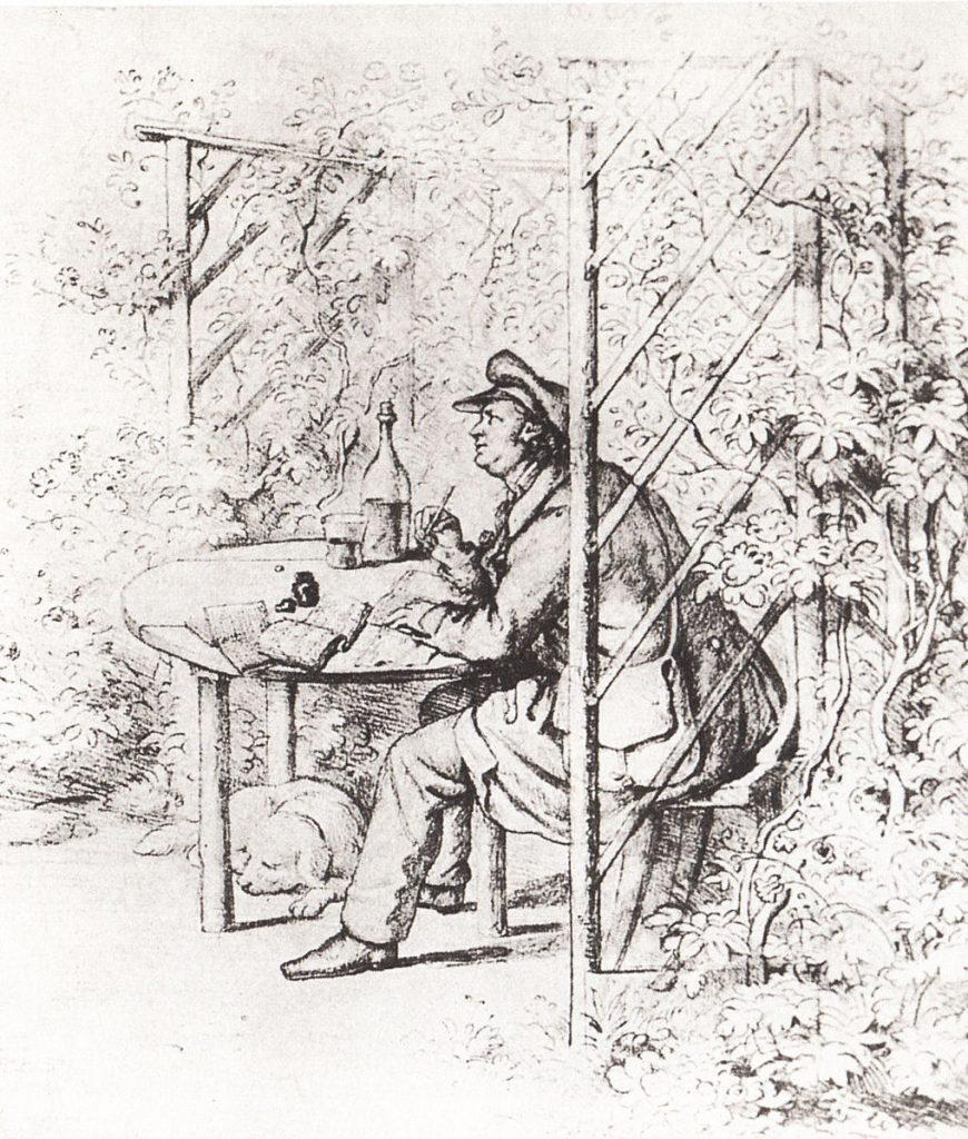 Porträt von Jean Paul von Ernst Förster