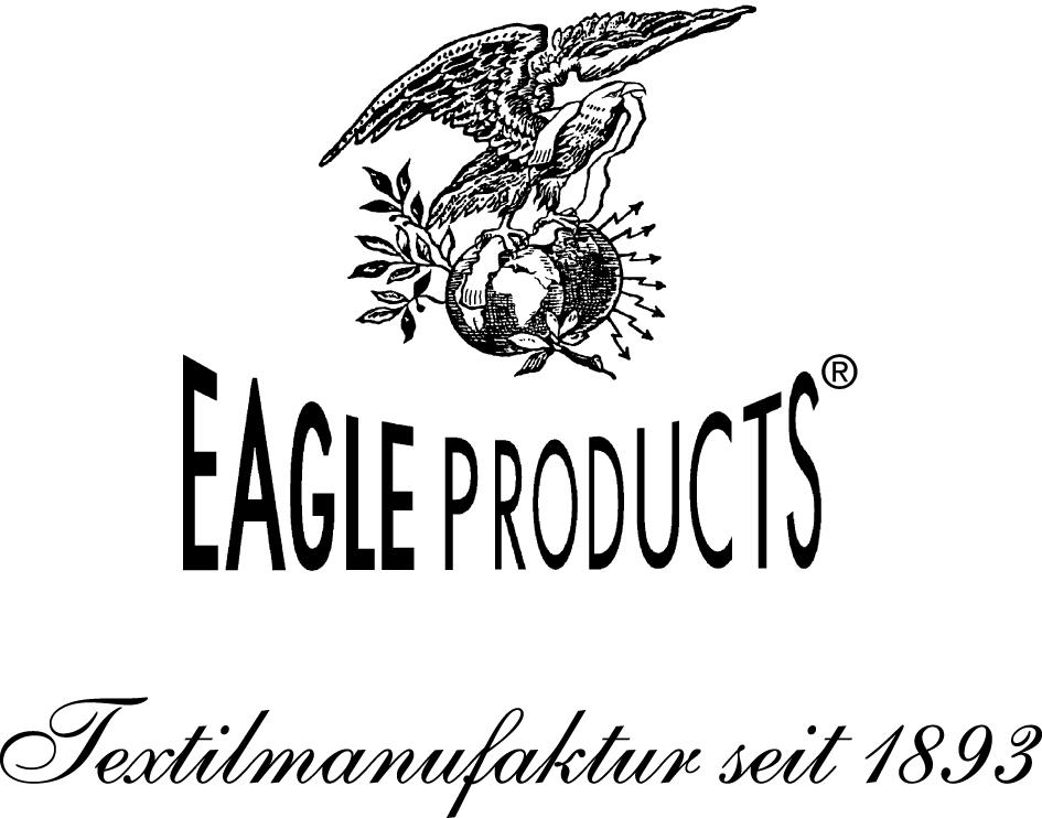 Logo von Eagle Products, Textilmanufaktur seit 1893