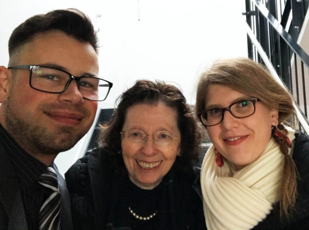 Markus Jung, Christa Klie und Eva Enders