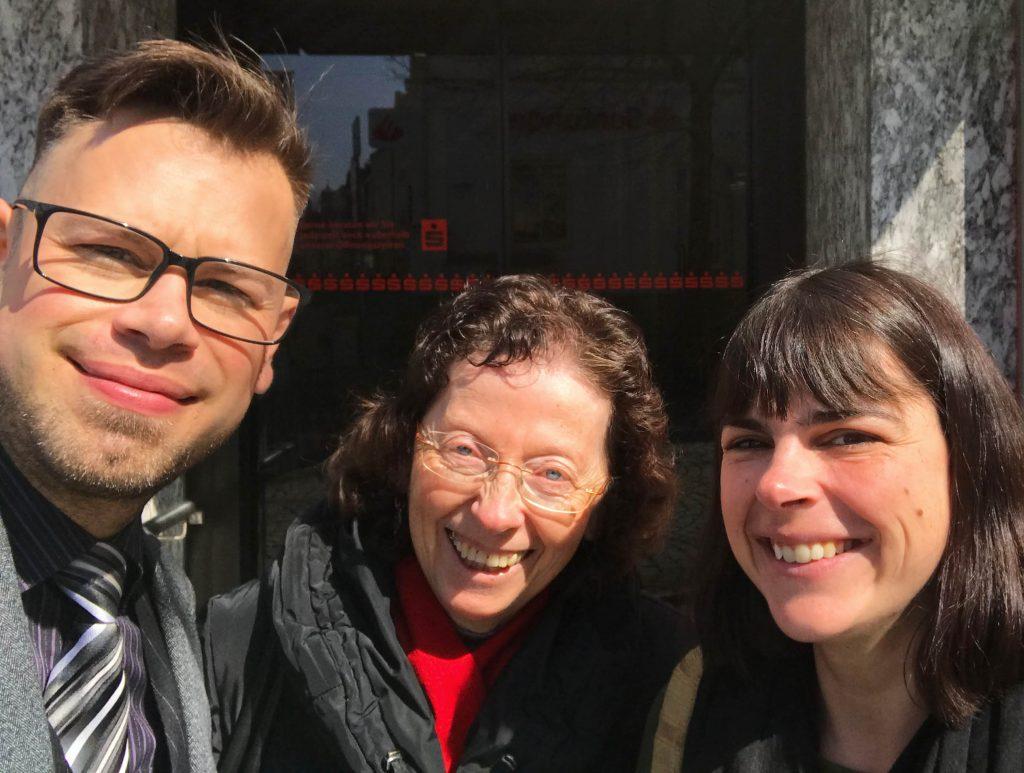 Markus Jung, Christa Klie und Stefanie Wiessner